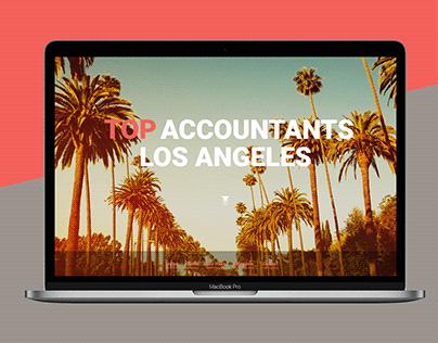 Top Accountants Los Angeles Web Design