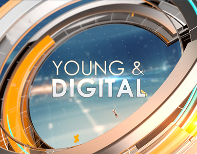 Young and Digital Opening Packaging