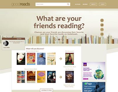 Goodreads.com Redesign