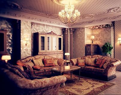 Classic interior (2008 year)