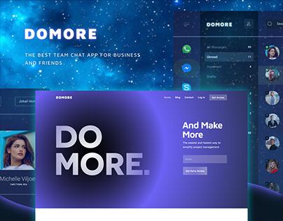 DOMORE App Website