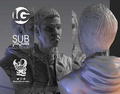 LG Bust (2018) - Art Toy Music Collectible