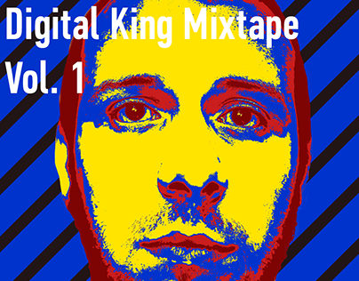Digital King mixtape covers