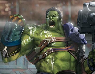 Hulk Ragnarok sketch