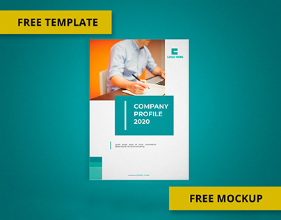 Multipurpose Company Profile | Free Template and Mockup