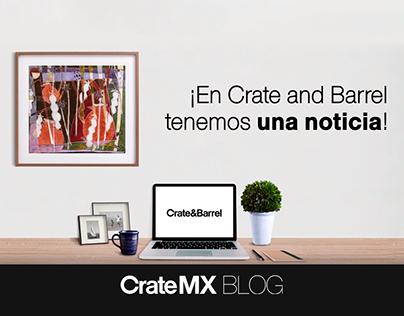 Video CrateMXBlog / Crate & Barrel
