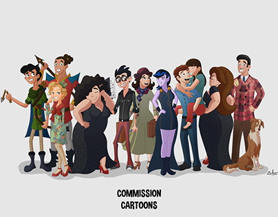 Commission Cartoons