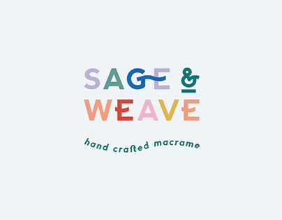 Sage & Weave Logo Design