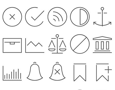 Icons for SEO blog