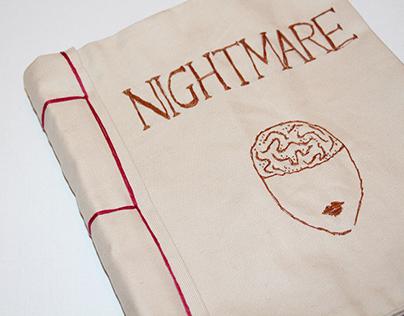handmade book | NIGHTMARE