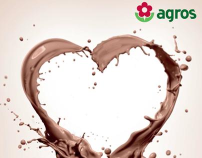 Campanha Agros Chocolate Suave