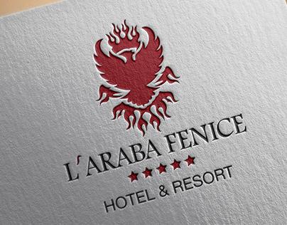L'Araba Fenice Hotel & Resort brand identity