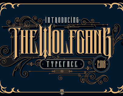 Wolfgang Typeface