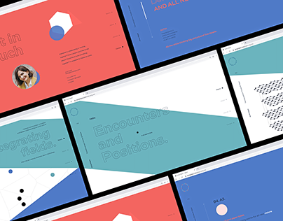 A visual cv website for Anna Olajos