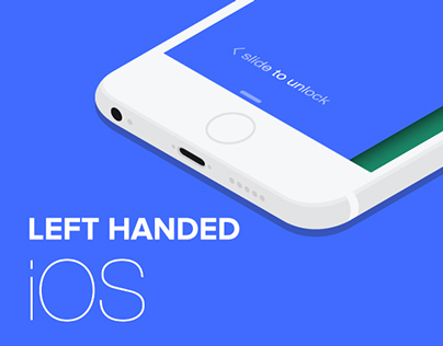 Left handed iOS