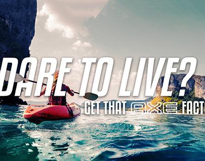 AXE Ad Design