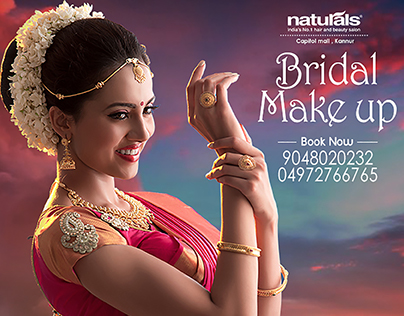 naturals bridal makeup