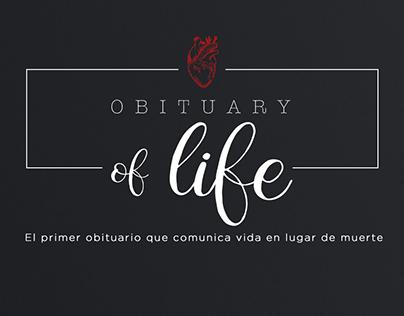 Obituario de vida