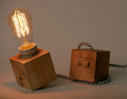 Olè - upcycling lamp