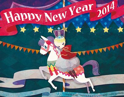 New Year card 2014.