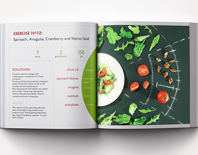 "COOKBOOK ""Tasty Exercise"""