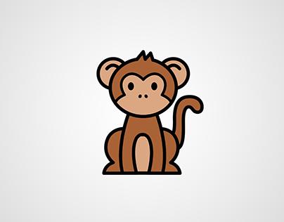 Monkey Themed T-shirt Graphics