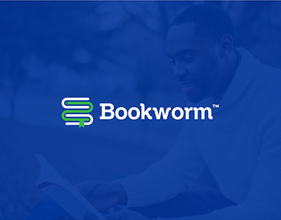 Bookworm - Logo and Brand Identity Design
