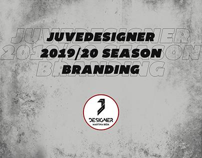 JuveDesigner 2019/20 Branding