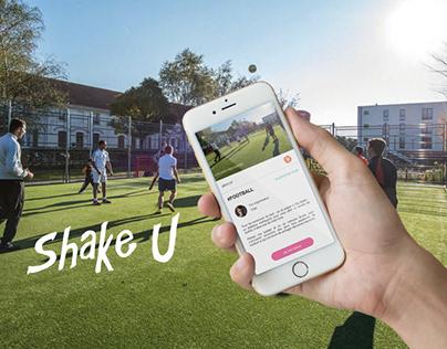 UX/UI Design | Application Shake U