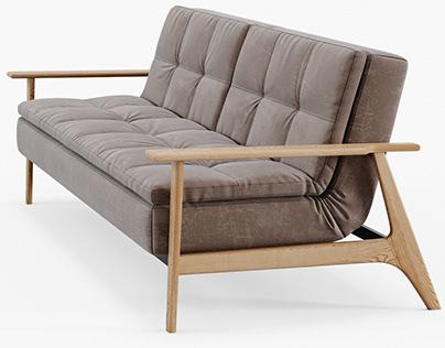 Dublexo Frej Sofa Bed Oak