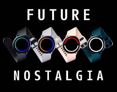 SMARTWATCH FACE - FUTURE NOSTALGIA