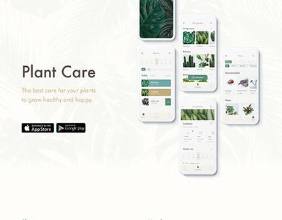 Plant Care - UX/UI Design Thinking