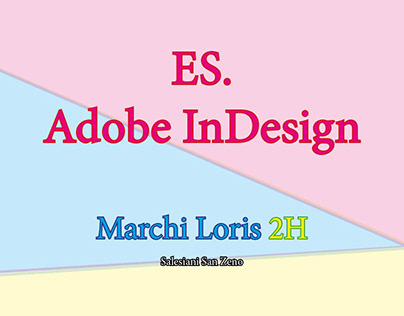 Es. Adobe InDesign
