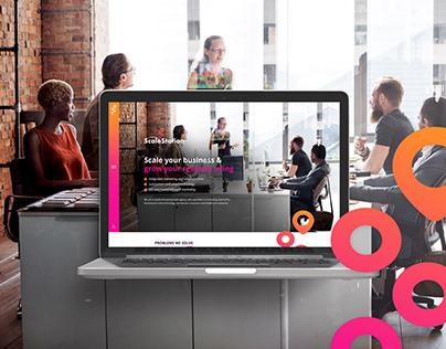 Scale Station - Mockup Website Design
