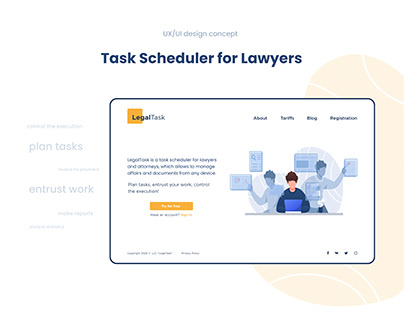 Task Scheduler for Lawyers