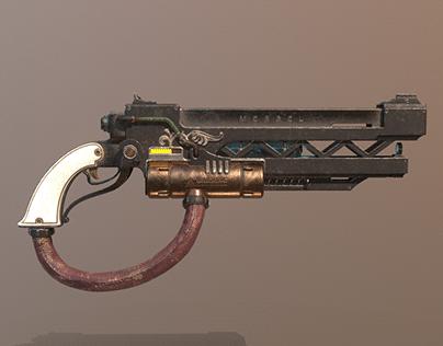 Biopunk Handgun