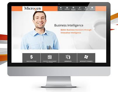 Microgen - Website Design