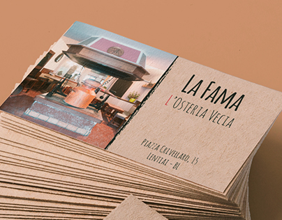 """My project for the Tavern """"La Fama"""""""