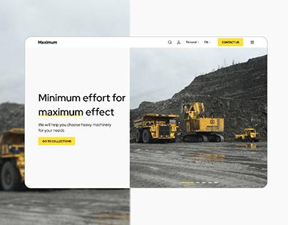 MAXIMUM - website + CRM-system