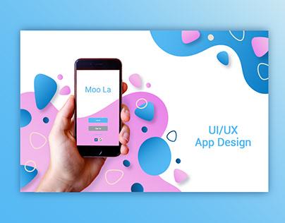 UI UX - Moo La App