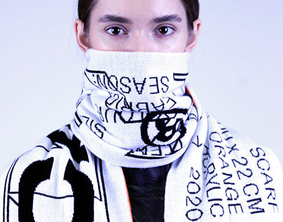 A/W 2020 OVERSIZED KNIT SCARF