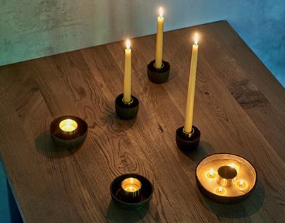 Candle holders GIRIA