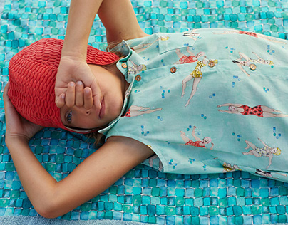 Children Pattern Design for Katia Fabrics