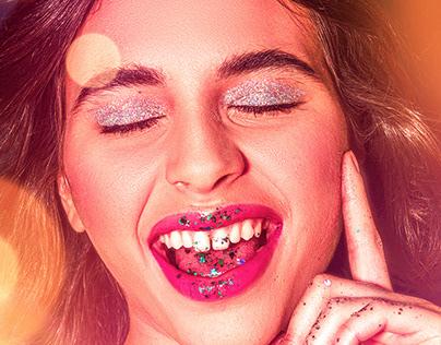 Glitter Galaxy, Professional Photo Shoot London