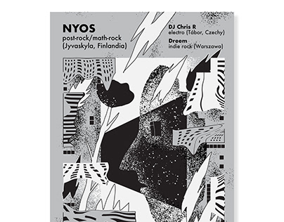 NYOS concert poster