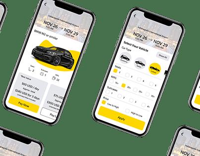 Hertz App Redesign
