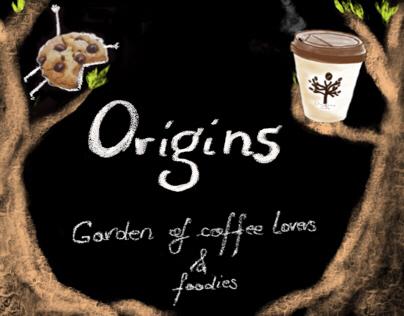 Origins Cafe - a playfull experiment