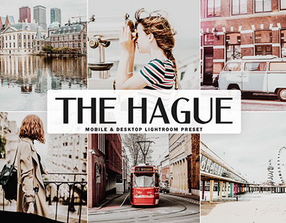 Free The Hague Mobile & Desktop Lightroom Preset