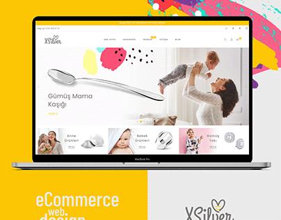Xsilver eCommerce Design