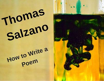 Thomas Salzano - Launched his Poetry Website
